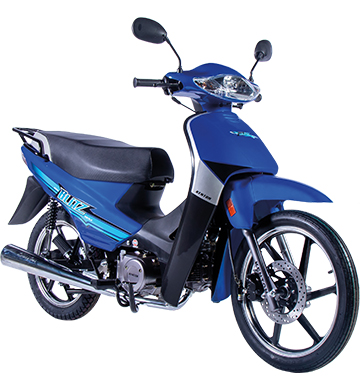 MOTO KENTON BLITZ 110 C/A DLX AZUL