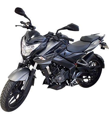 MOTOCICLETA BAJAJ ROUSER 200 CC - NEGRO