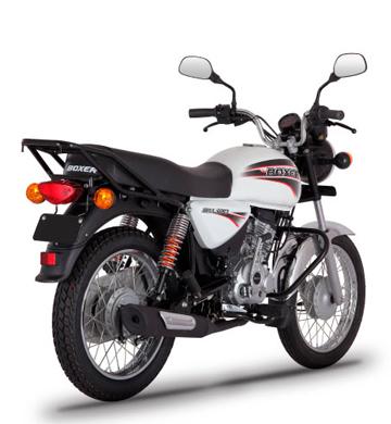 MOTOCICLETA BAJAJ BOXER 150 CC- BLANCO